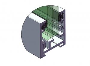 Profil perimetral partitie simpla1
