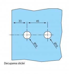 Balama aplicata usa sticla 8-10 mm4
