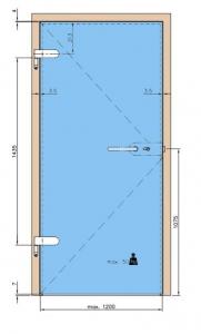 Balama aplicata usa sticla 8-10 mm6