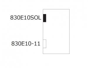 Balama hidraulica Biloba EVO SOL fara blocare fixare pe perete4