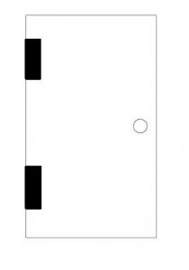 Balama hidraulica Biloba EVO Frame cu blocare 180° fixare pe toc aluminiu3