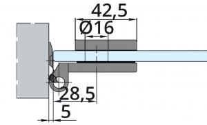Balama incadrata Dorma Junior Office usa sticla 8-10 mm [4]