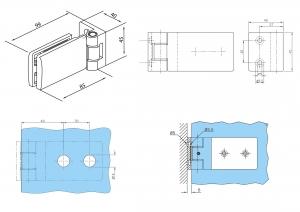 Balama perete/sticla usa armonica1
