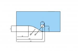 Balama inferioara PT 10 - Dorma Universal Light1