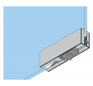 Balama dreapta supralumina PT 30 - Dorma Mundus Comfort2