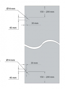 Balama incadrata usa sticla 8-10 mm2
