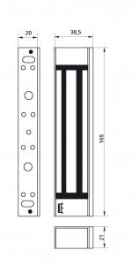 Broasca electromagnetica Dorma EM 1800 AH [2]