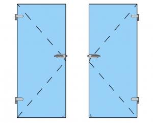 Broasca pentru cilindru usa sticla 8-10 mm [3]
