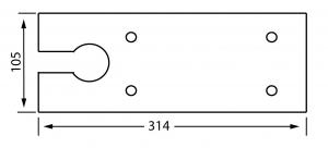 Capac amortizor pardoseala 8460 V1
