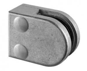 Clema MOD 27 fixare pe drept pentru montant balustrada sticla 8,76-10,76 mm0