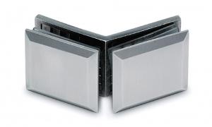 Conector cabina dus sticla/sticla 135°0