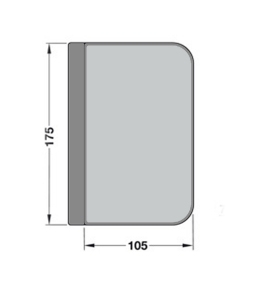 Contrabroasca Dorma Junior Office usa sticla 8-10 mm [2]