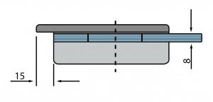 Contrabroasca Dorma Junior Office usa sticla 8-10 mm [4]