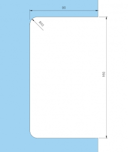 Contrabroasca Dorma Junior Office usa sticla 8-10 mm [5]