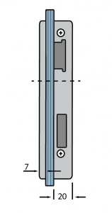 Contrabroasca Dorma Junior Office usa sticla 8-10 mm [3]