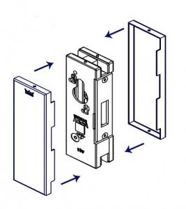 Contraplaca sticla GK 50 - pentru US 20 - Dorma Universal Light1