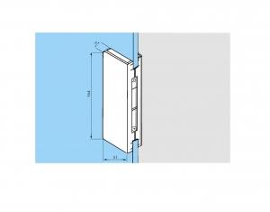 Contraplaca sticla GK 50 - pentru US 20 - Dorma Universal Light3