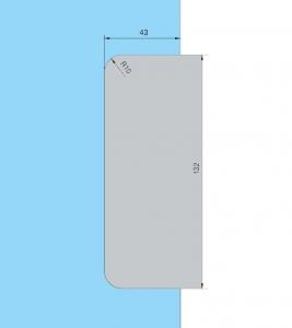 Contraplaca sticla GK 50 - pentru US 20 - Dorma Universal Light4