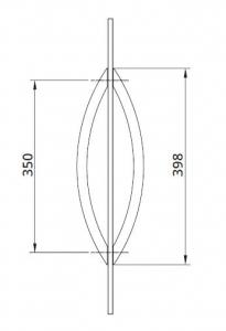Maner oval Dorma Arcos [1]
