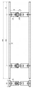 Maner rectangular, 40x10 mm1
