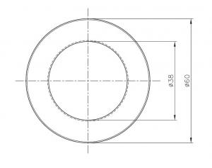 Maner scoica Ø60 mm, sticla 8-12 mm1