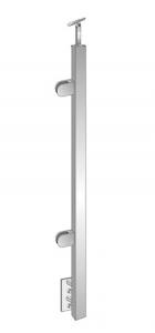 Montant de capat patrat echipat pentru sticla fixare pe laterala [0]