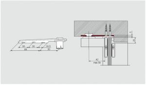 Pivot superior Dorma EA1