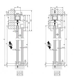 Profil glisare Standard EASY 803
