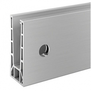 Profil U balustrada Easy Glass® Smart fixare laterala0