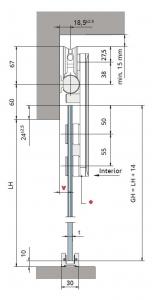 Set glisanta Dorma, RSP80 1 foaie mobila1