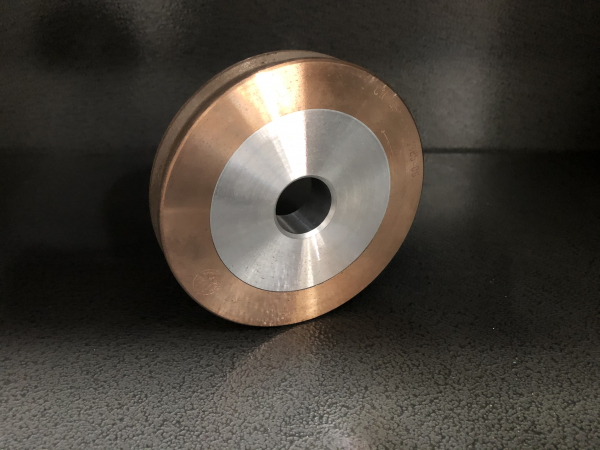 Disc periferic CNC, 100 x 9 x 2.5mm, 45°, int.22 mm, trapez, gran.170, geam 8mm 0