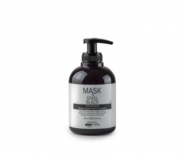 Masca coloranta negru otel Mask Steel Black 300 ml 0