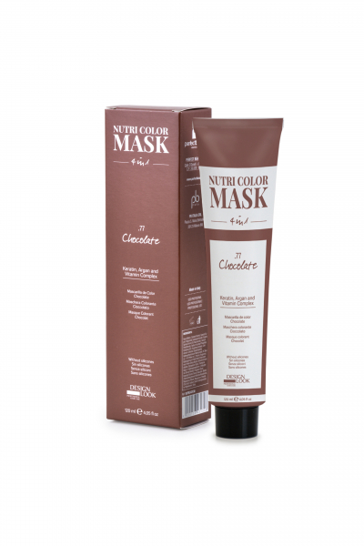 Masca coloranta ciocolatiu Nutri Color Mask 4 in 1 Chocolate 120 ml 0