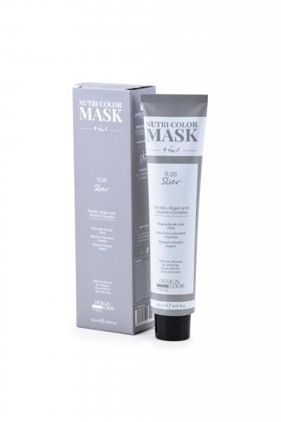 Masca coloranta argintiu Nutri Color Mask 4 in 1 Silver 120 ml 0