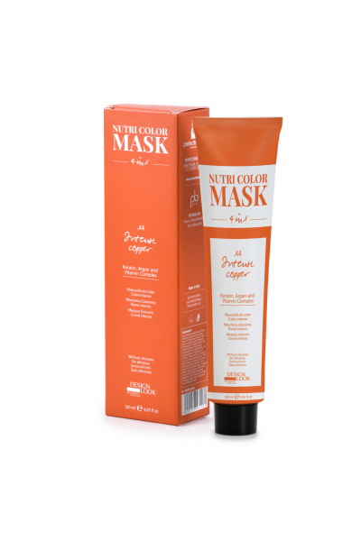 Masca coloranta aramiu intens Nutri Color Mask 4 in 1 Intense Copper 120 ml 0