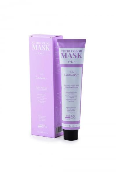 Masca coloranta lavanda Nutri Color Mask 4 in 1 Lavender 120 ml 0