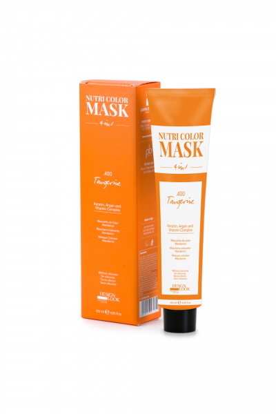 Masca coloranta mandarina Nutri Color Mask 4 in 1 Tangerine 120 ml 0
