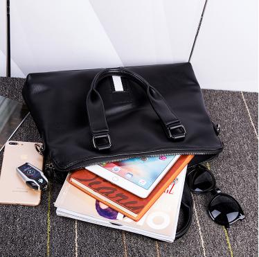 Geanta laptop femei piele neagra Elizabeth 2