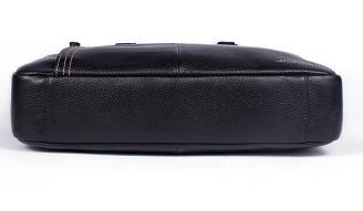 Geanta laptop barbati piele neagra Gabriel 2
