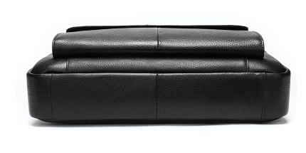 Geanta laptop barbati piele neagra Neil 2