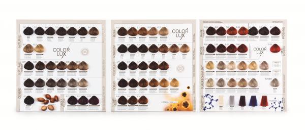 Vopsea de par blond roscat inchis intens 6.66 Color Lux 100 ml 1