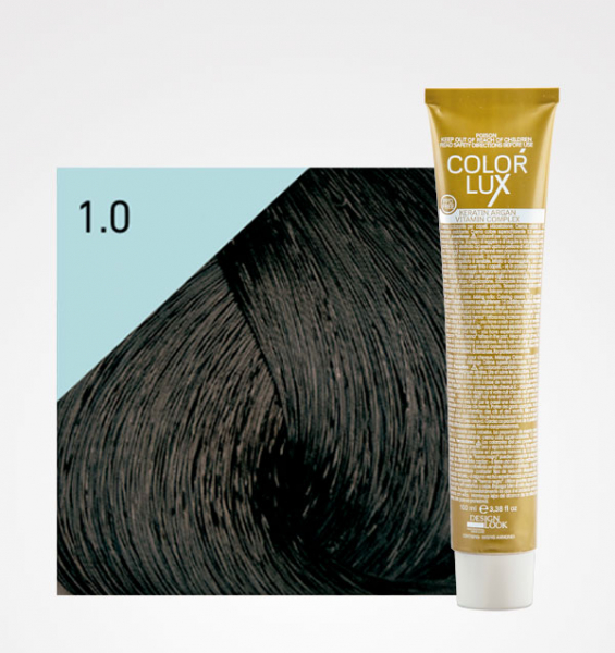 Vopsea de par negru 1.0 Color Lux 100 ml 0