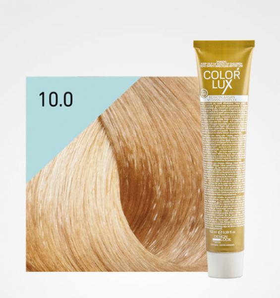 Vopsea de par blond platinat 10.0 Color Lux 100 ml [0]