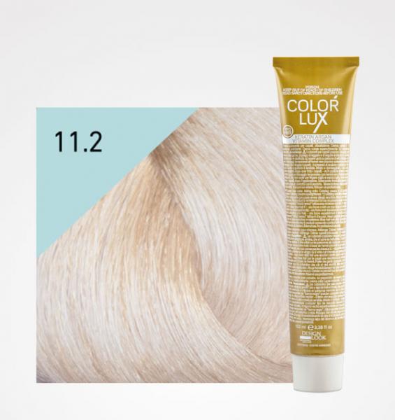 Vopsea de par blond perlat platinat super deschis 11.2 Color Lux 100 ml 0