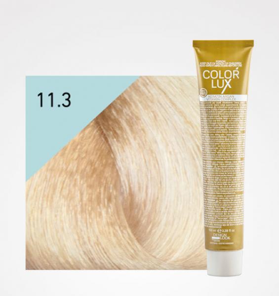 Vopsea de par blond auriu platinat super deschis 11.3 Color Lux 100 ml 0