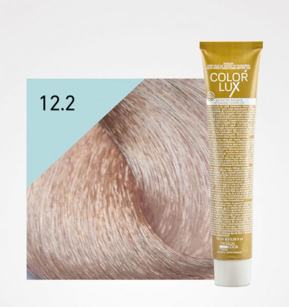 Vopsea de par blond perlat extra platinat super deschis 12.2 Color Lux 100 ml 0