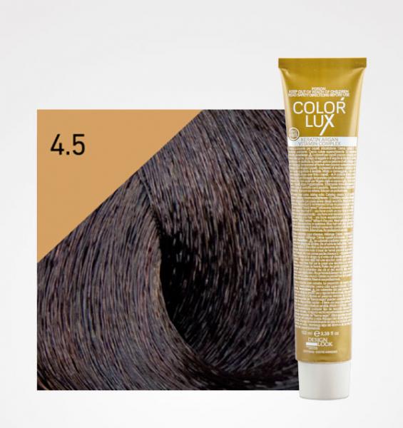 Vopsea de par castaniu mahon 4.5 Color Lux 100 ml 0