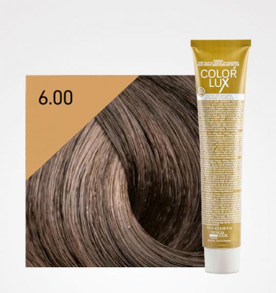 Vopsea de par blond inchis intens 6.00 Color Lux 100 ml 0