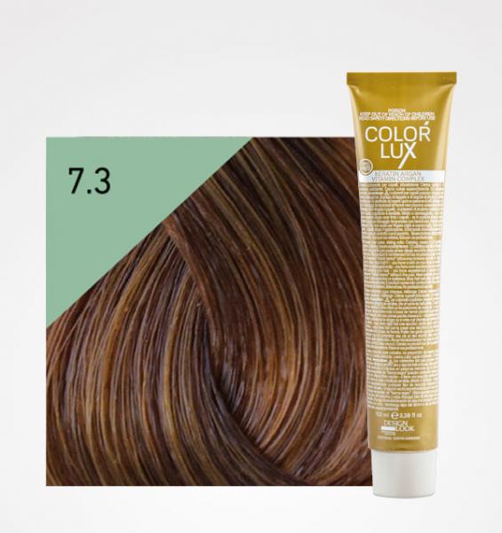 Vopsea de par blond auriu 7.3 Color Lux 100 ml 0