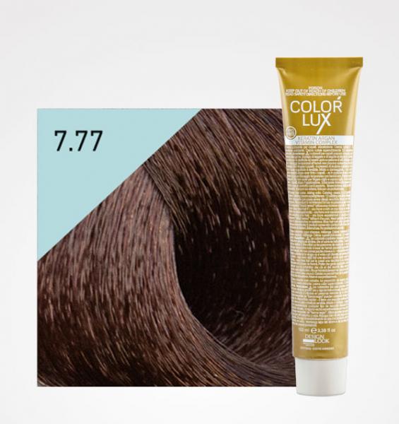Vopsea de par ciocolata giandiua 7.77 Color Lux 100 ml 0